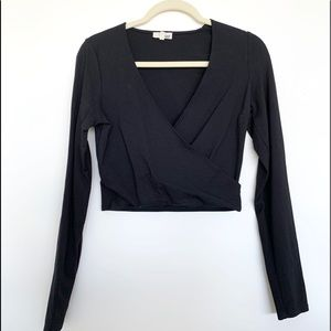 Wilfred Free Faux Wrap Top